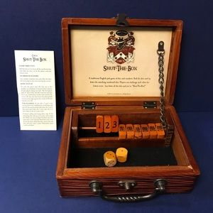 Front Porch Classics Shut-the-Box Wooden Game